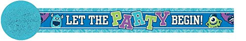Monsters University Inc. Crepe Paper Streamer (30ft) (Monster Inc Streamers compare prices)