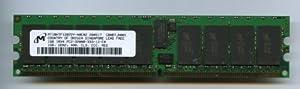 Micron 1GB DDR2 ECC 400 CL3 Reg 1Rx4 Server Memory