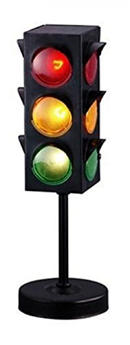 Traffic Light Lamp Novelty Party Room Decoration (Stainless Steel Flashing compare prices)