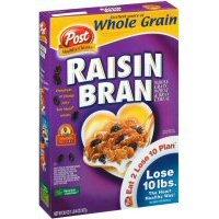 Post Raisin Bran Cereal [Case Count: 12 per case][Item Size: 20 OZ]