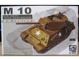 AFV35024 AFV Club 1:35 - U.S. M10 Tank Destroyer