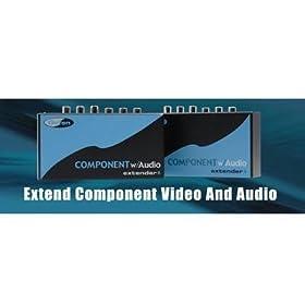 Gefen EXT-COMPAUD-141 Component with Audio Extender