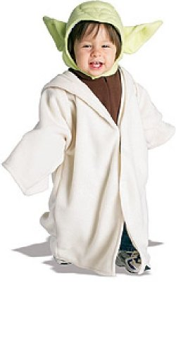 Yoda EZ Romper Costume: Baby's Size 6-12 Months