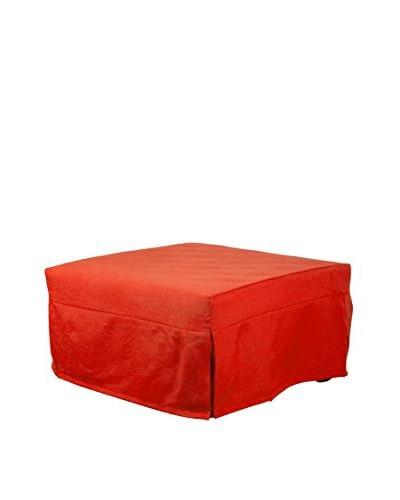 13 Casa  Puff Cama F00040902026 Naranja