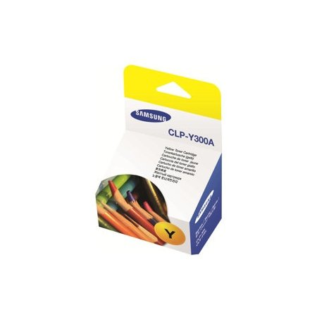 Samsung CLP-Y300A Yellow Toner Cartridge, Yellow