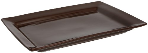 COLORcode Rectangle Platter, Dark Chocolate