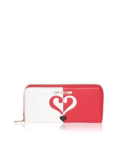 Love Moschino Portafoglio  [Rosso/Bianco]