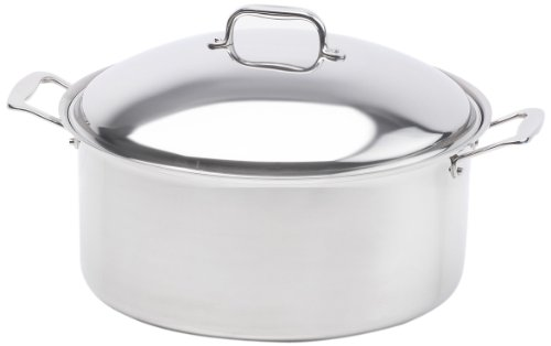 360 Cookware Stainless Steel Stock Pot with Cover, 12-Quart (360 Cookware Stock Pot compare prices)