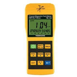 TM 192D 3 axix Magnetic Field Meter with Data Logger