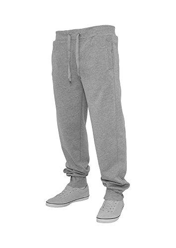 Urban Classics -  Pantaloni sportivi  - Basic - Uomo Grigio chiaro XL