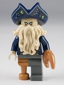Lego Davy Jones Mini Figure Captain of the black Pearl , Pirrates of the Caribbean