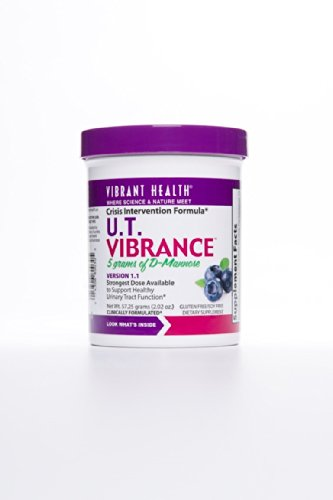 Vibrant Health Mannose U.T. Vibrance Crisis Intervention Formula, 2.02 Ounce