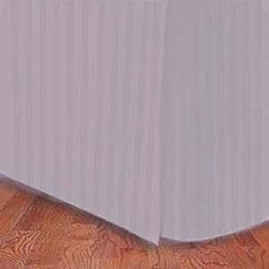 Marrikas (Tm) 300TC Egyptian Cotton Eastern King (US KING) Bed Skirt Stripe Lavender