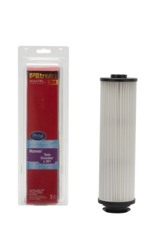 3M Filtrete Hoover Twin Chamber & 201 Vacuum Filter, 1 Pack front-359387