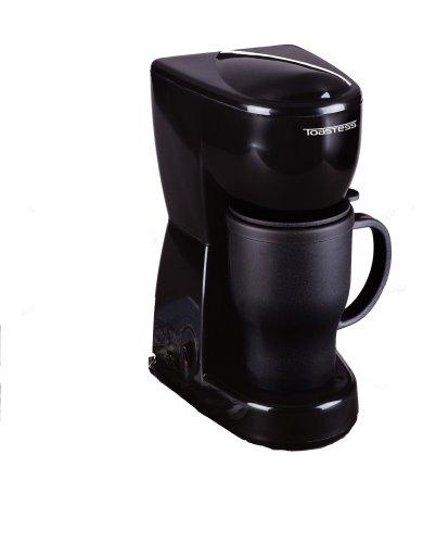 Toastess TFC-2T 450-Watt Personal-Size Coffeemaker with Thermal Travel Mug