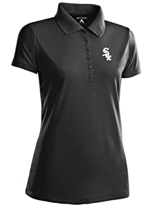 Chicago White Sox Ladies Pique Xtra Lite Polo Shirt (Team Color) by Antigua