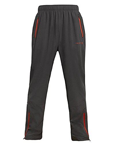 FREE COUNTRY MEN'S AIRY ACTIVE WOVEN PANT DARK CHARCOAL SMALL