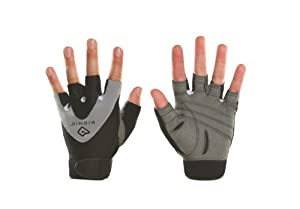 Bionic Mens StableGrip Half-Finger Fitness Gloves