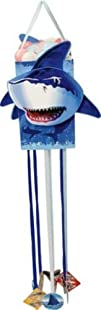 Creative Converting Shark Splash Paper Pinata with Pull Strings