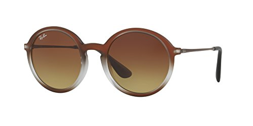 Ray-Ban 4222 622413 Brown Shot on Black 4222 Lily Round Sunglasses Lens Categor