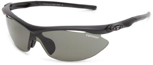 Tifosi Slip T-IP361 Polarized Shield Sunglasses,Matte Black