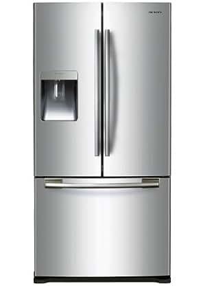 Samsung RF62QERS1/XEF Side-by-Side / A+ / Kühlen: 332 L / Gefrieren: 118 L / Edelstahl / No Frost / Eiswürfelbereiter / LED-Display