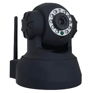 Zmodo Cm-I11123Bk Wireless Wifi Ir Night Vision Pan Tilt Ip Network Camera