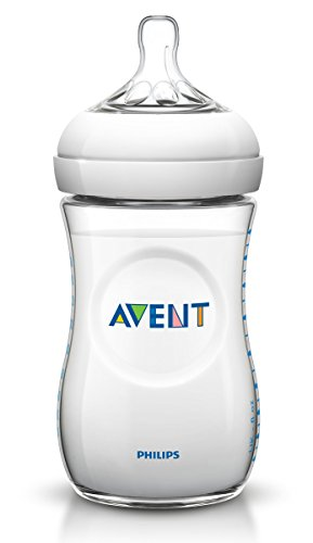 Philips AVENT Natural SCF693/37 260 ml Feeding Bottle 1 month+ (Pack of 3) - 1