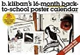 B. Kliban's 16-Month Back-to-School Poster Calendar 2006 (0761139621) by Kliban, B.