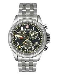Wenger Men's 72756 TerraGraph Dual Time Power Reserve Alarm Swiss Watch