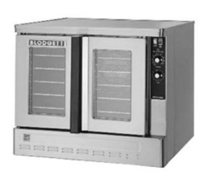 Blodgett Zeph-100-Gbase Full Size Gas Convection Oven - Lp, Each