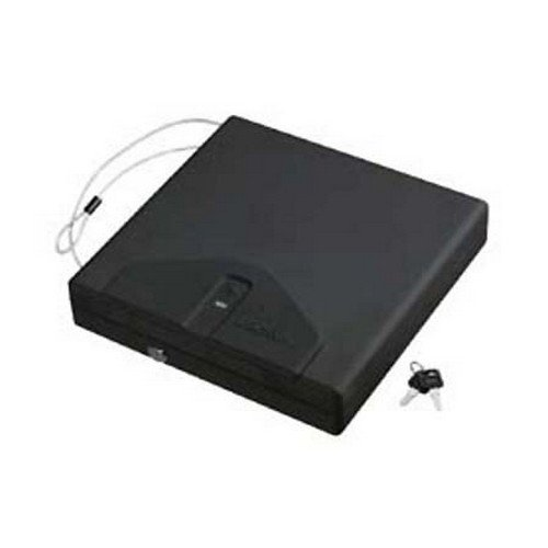 """Stack-On Portable Case """"Large W/Biometric Lock"""" front-823020"""
