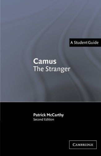 Camus: The Stranger (A Student Guide: Landmarks of World Literature)