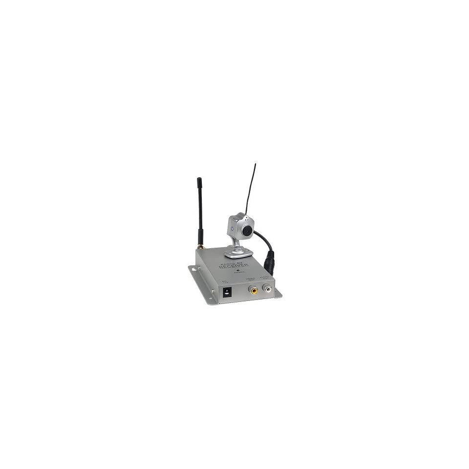 900MHz Mini Wireless Color Camera W Built In Microphone
