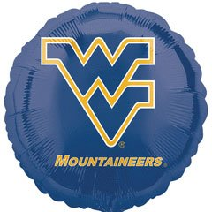 "18"" West Virginia University Foil Balloon"