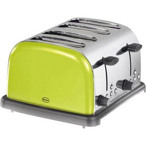SWAN Swan 4 Slice Toaster Lime Green ST14020LIMN by Swan