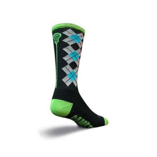 SockGuy Crew 8in Check Sticks Lacrosse Socks