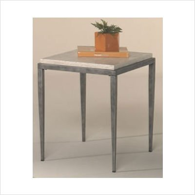 Cheap Hammary T2009120-00 Carmen Rectangular End Table in Antique Silver Finish (T2009120-00)