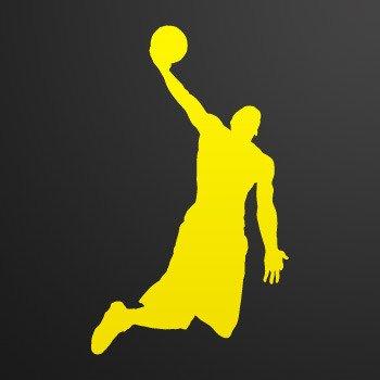 Basketball Power Player Air Jump Dunk Helmet tank ... Yellow (09 X 5.4 inch) ZEZE8