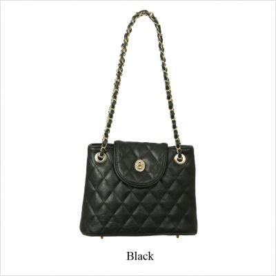 Paul Quilted Faux Leather Small Shoulder Bag