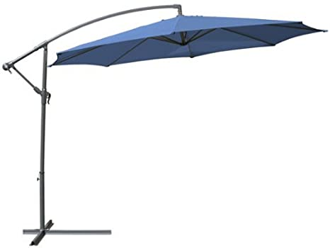 ampelschirm 350cm h he 255cm farbwahl sonnenschirm inkl st nder 39 us185. Black Bedroom Furniture Sets. Home Design Ideas