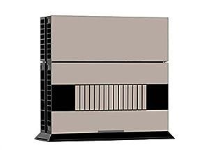 ModFreakz Playstation 4 Vinyl Console and Free Ps4 Controller Skin- Retro Tan Nes Nitendo