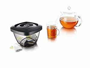 Vacu Vin Food Saver for Tea and Nuts .65 liter