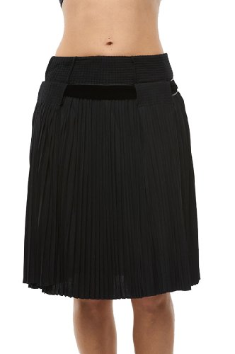 Roberto Cavalli - Sheer Pleated Skirt Black