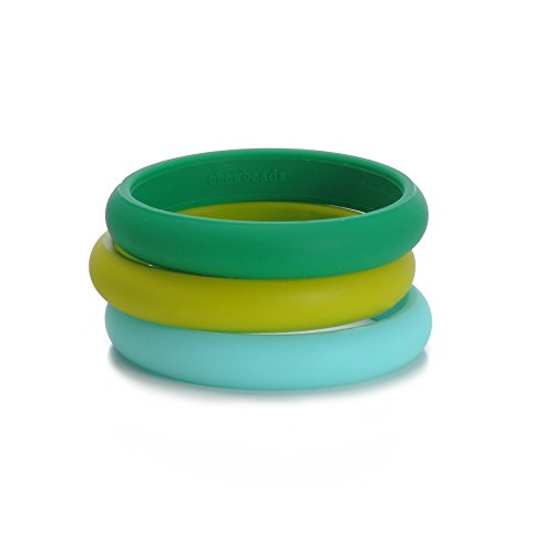 Chewbeads Skinny Charles Bangle - Emerald Green