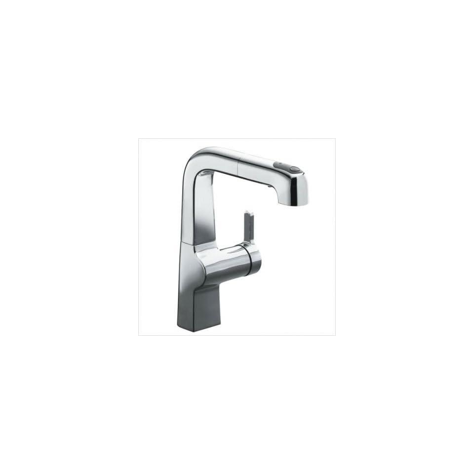 KOHLER Evoke Polished Chrome 1 Handle Bar Faucet 6332 CP