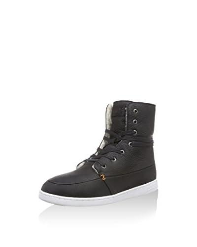 Hub Sneaker Alta [Marrone Scuro]