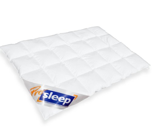 PRO SLEEP - Komfort Kassettendecke - MEDIUM - 155x220cm - 90% Daune / 10% Federchen - 750 gr. - Made in Germany - 975.50.003