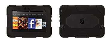 "Black/ Black Survivor Case for 7"" Kindle Fire HD (2012 model only)"