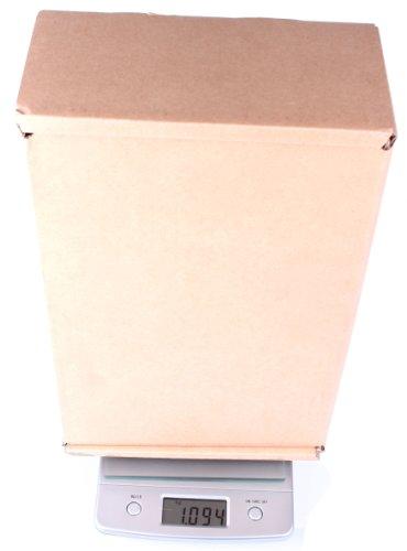DURAGADGET Balance de cuisine moderne / balance postale précise jusqu'à 5kg et écran affichage numérique - garantie 2 ans